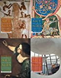 Kleiner, Fred S.: Gardner's Art through the Ages: 4 Volume Backpack Edition (with Art Study & Timeline Printed Access Card)
