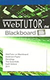 Andersen, Margaret L.: WebTutor(TM) on Blackboard Printed Access Card for Andersen/Taylor's Sociology: The Essentials