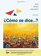 Como se dice...?, Enhanced Edition by Ana…