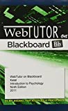 Kalat, James W.: WebTutor(TM) on Blackboard Printed Access Card for Kalat's Introduction to Psychology, 9th