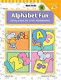 Flora, Sherrill B.: Alphabet Fun: Learning to Print and Identify Alphabet Letters  Age 4-7