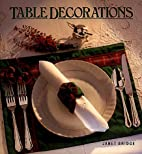 Table Decorations by Janet Bridge