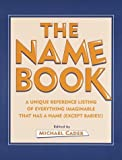 Cader, Michael: The Name Book