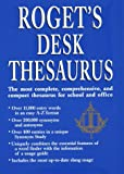 Webster Staff: Roget&#39;s Desk Thesaurus