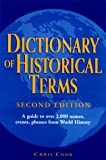 Cook, Chris: Dictionary of Historical Terms