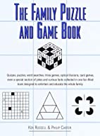 Family Puzzle and Game Book by Ken Russel