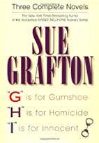 G is for Gumshoe / H is for Homicide / I is…