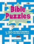 Bible Puzzles for Children Vol 2 by Ruby A.…