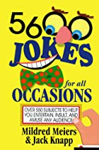 5,600 Jokes for All Occasions by Mildred…
