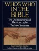 Who's Who in the Bible by Joan Comay