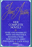 Outlet Book Company Staff: Jane Austen : Her Complete Novels Li