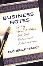 Business Notes: Writing Personal Notes that…