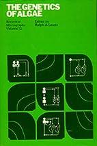 The Genetics of Algae: Botanical Monographs,…