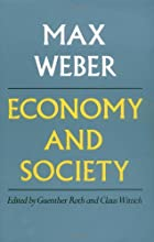 Economy and Society: An Outline of…