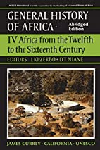 Africa from the twelfth to the sixteenth…