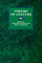 Theory of Culture (New Directions in…