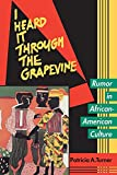 Turner, Patricia: I Heard It Through the Grapevine: Rumor in African-American Culture