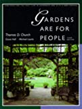 Laurie, Michael: Gardens Are for People
