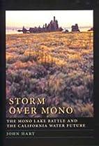 Storm over Mono by John Hart