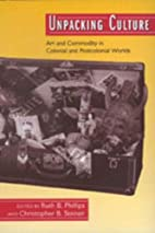 Unpacking Culture: Art and Commodity in…