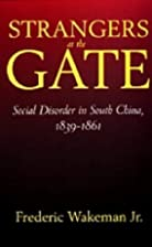 Strangers at the Gate: Social Disorder in…