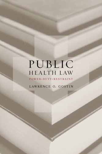 public-health-law-power-duty-restraint-california-milbank-series-on-health-and-the-public