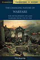 The Changing Nature of Warfare: The…