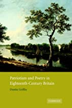 Patriotism and Poetry in Eighteenth-Century…