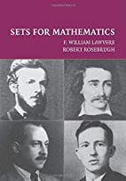 Sets for Mathematics by F. William Lawvere