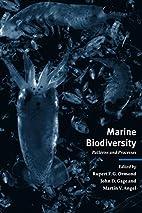 Marine Biodiversity: Patterns and Processes…