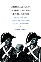 Criminal Law, Tradition and Legal Order:…