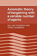 Axiomatic Theory of Bargaining with a…