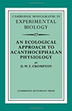An ecological approach to acanthocephalan…