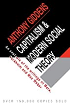 Capitalism and Modern Social Theory: An…