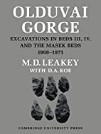 Olduvai Gorge: Volume 5 by M. D. Leakey