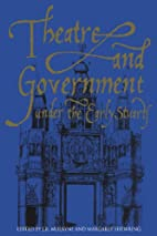 Theatre and government under the early…