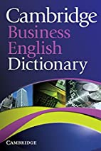 Cambridge Business English Dictionary by…