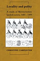 Locality and Polity: A Study of Warwickshire…