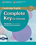 Elliott, Sue: Complete Key for Schools Workbook without Answers with Audio CD