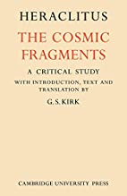 The cosmic fragments by Heraclitus
