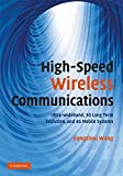 Schwartz: Mobile Wireless Communications