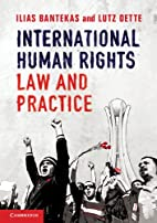 International Human Rights Law and Practice…