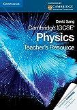 Sang, David: Cambridge IGCSE Physics Teacher's Resource CD-ROM (Cambridge International Examinations)