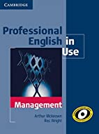 Professional English in Use Management with…
