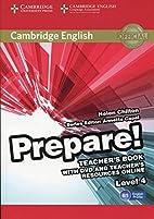 Cambridge English Prepare! Level 4 Teacher's…