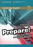 Cambridge English Prepare! Level 3 Teacher's…