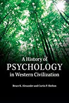 A History of Psychology in Western…