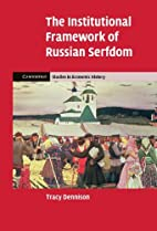 The Institutional Framework of Russian…