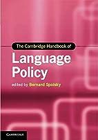 The Cambridge Handbook of Language Policy…