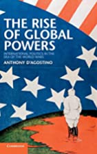 The Rise of Global Powers: International…